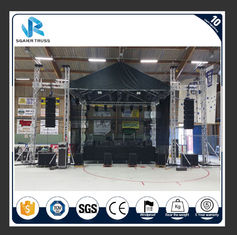 Tower Lifting Lighting Sgaier Truss Square / Circle / Arch / Triangle Ladder Shape