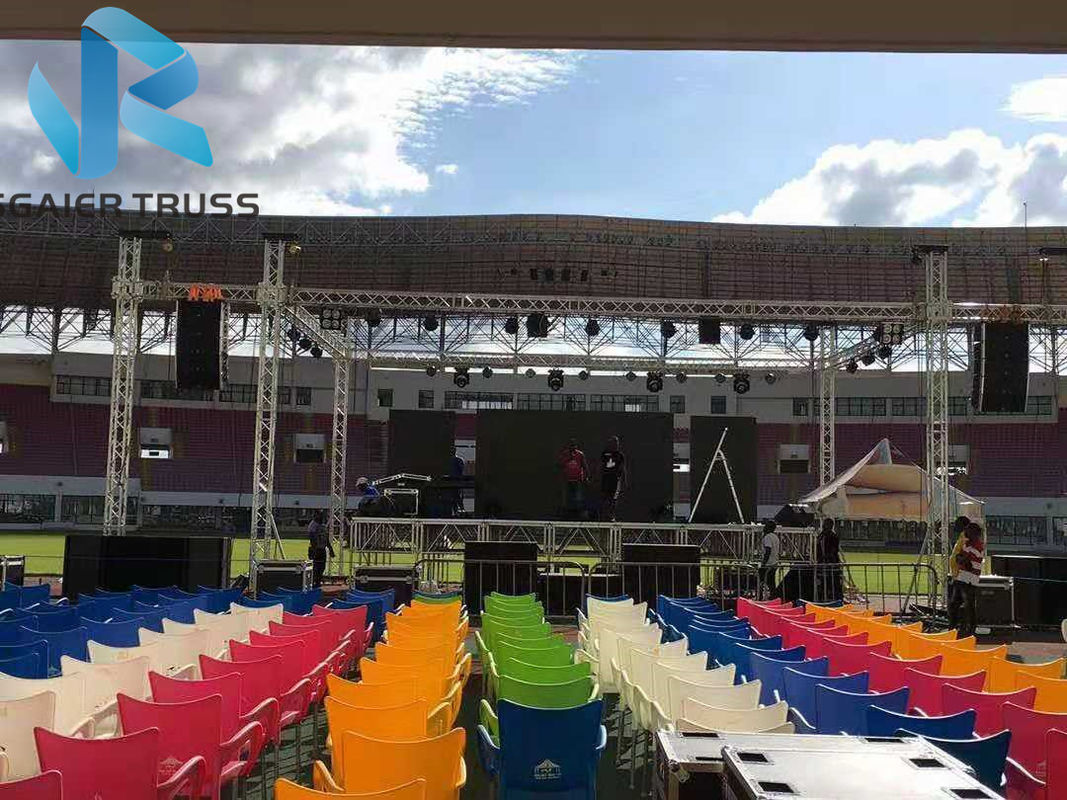 Heavy Loading Aluminum Stage Truss For Outdoor Concert Ce Certified 5 Years Warranty